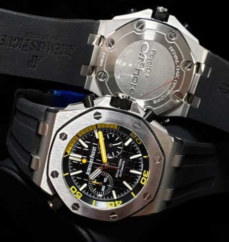 AP Audemars Piguet RO rubber chrono 45mm