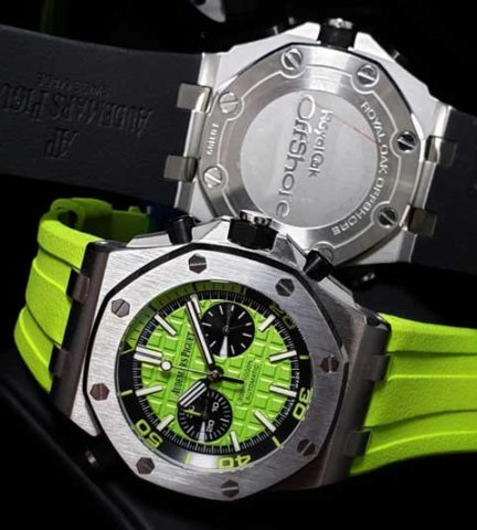 AP Audemars Piguet RO rubber chrono 45mm1