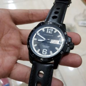 Jam Tangan Chopard Monaco Histerique Leather KW Super Grade AAA