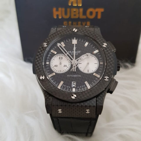 Hublot bigbang carbon leather black owl 4.5cm
