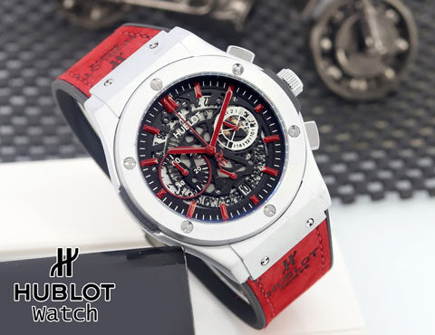Hublot date Chrono active red d 45 480x370