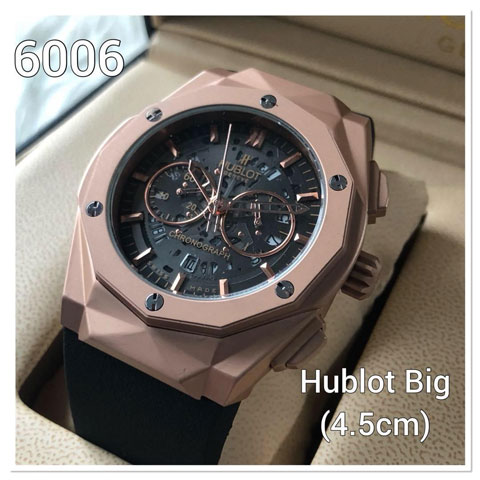 Hublot stone prism rubber 46mm 870