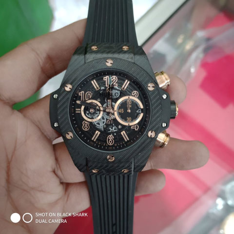 Hublot vendome pico rubber black 46mm 1100