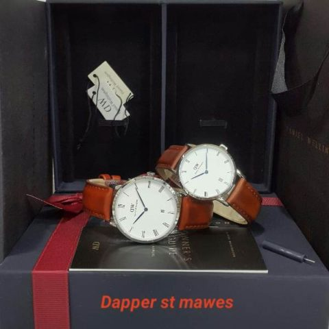 Daniel Wellington DW dapper tanggal couple 3.8 3.4cm red 480x480