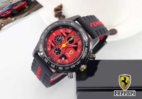 Ferrari rubber terkini Chrono active d 45 merah 480x333