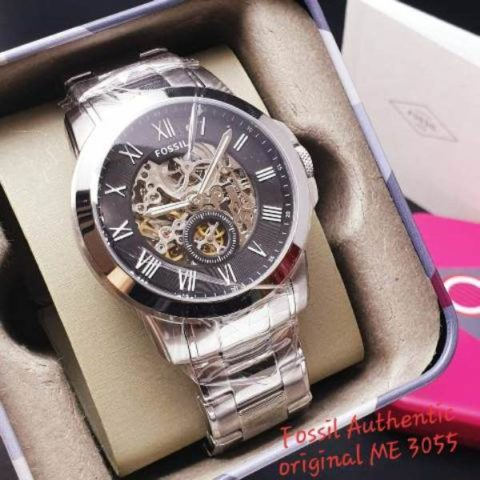 Fossil 4.6 cm type 3055 gambar StainlessOtomatis 480x480