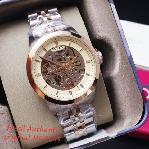 Fossil 4.6 cm type 3075 gambar StainlessOtomats 480x480