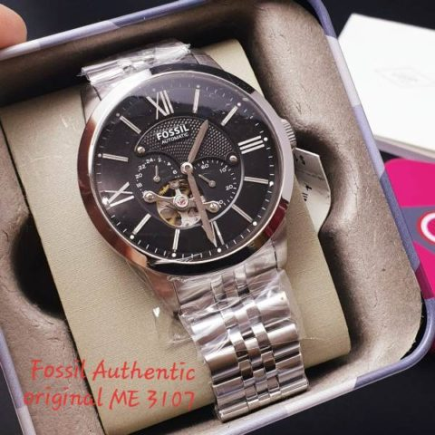 Fossil 4.6 cm type me 3107StainlessOtomatis 480x480