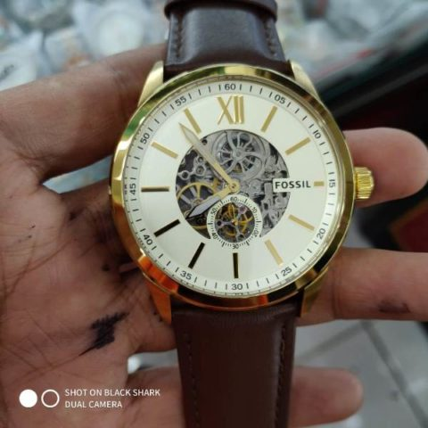 Fossil BQ 2215 leather matic premium 45mm 480x480