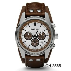 Jam Tangan Fossil CH-2565 Back Band Leather