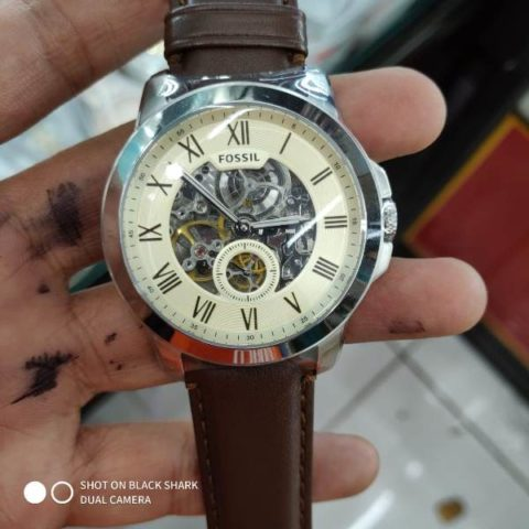 Fossil ME 3052 leather matic premium 42mm 480x480