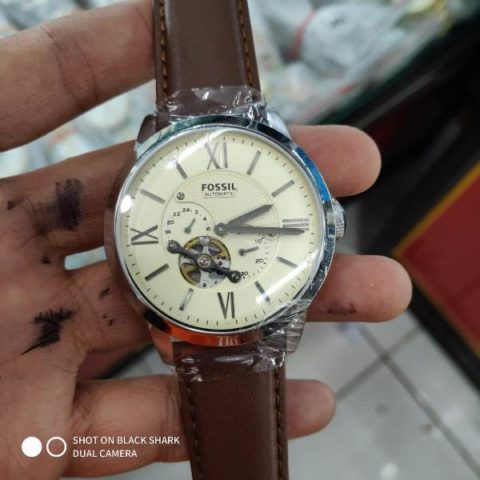 Fossil ME 3064 leather matic premium 42mm 480x480