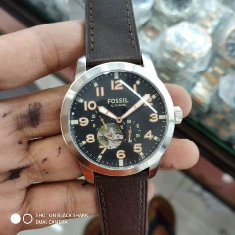 Fossil ME 3118 leather matic premium 42mm 480x480