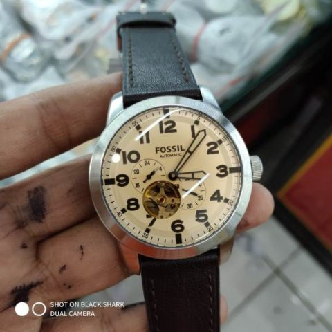Fossil ME 3119 leather matic premium 42mm 480x480