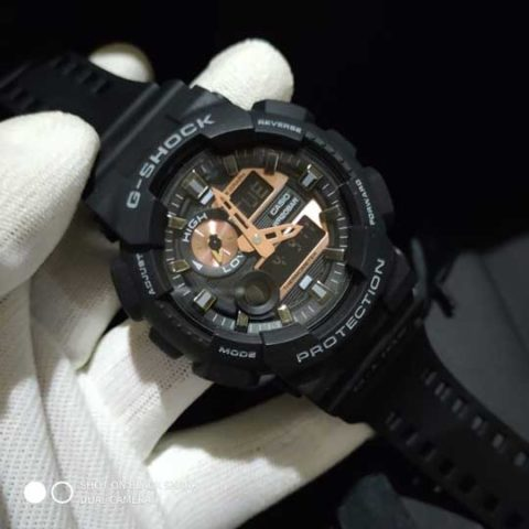 G shock GAX 100 rubber premium black rose 4.8cm 480x480