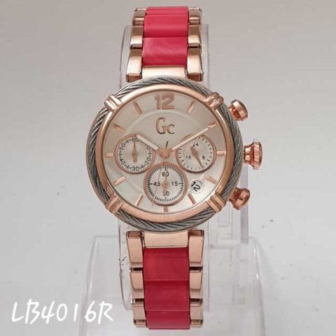 GC date ladies Chrono active rosegold merahd 35 480x480
