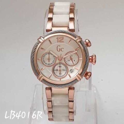GC date ladies Chrono active rosegold putih d 35 480x480
