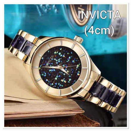 Invicta ladies acrylic combi 4cm