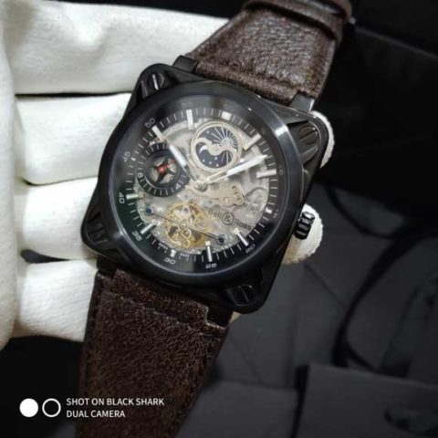 Bell Ros BR 01 tourbillon leather matic 47mm 480x480