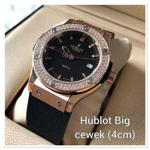 Hublot bigbang ladies diamond strap rubber 3.8cm