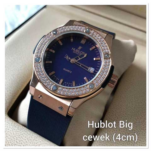 Hublot bigbang ladies diamond strap rubber 3.8cm2