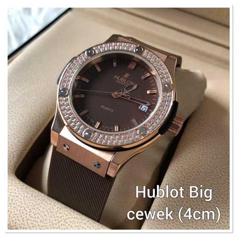 Hublot bigbang ladies diamond strap rubber 3.8cm3