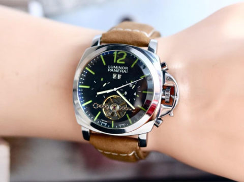 luminor panerai automatic kw super silver coklat 480x358