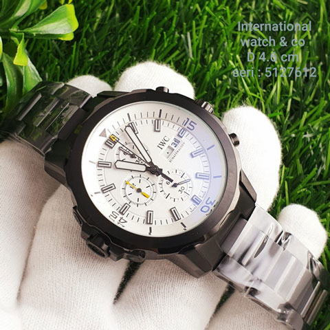 IWC 5127612 chain black white All stainless steel 4.5cm