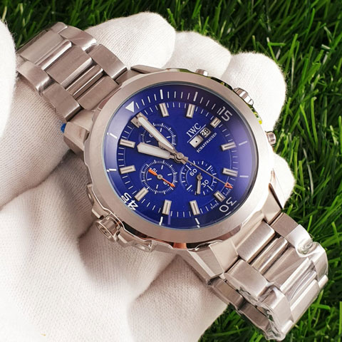 IWC 5127612 chain silver blue All stainless steel 4.5cm