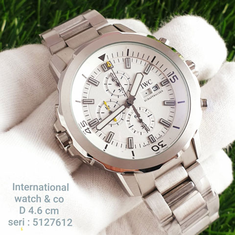 IWC 5127612 chain silver white All stainless steel 4.5cm