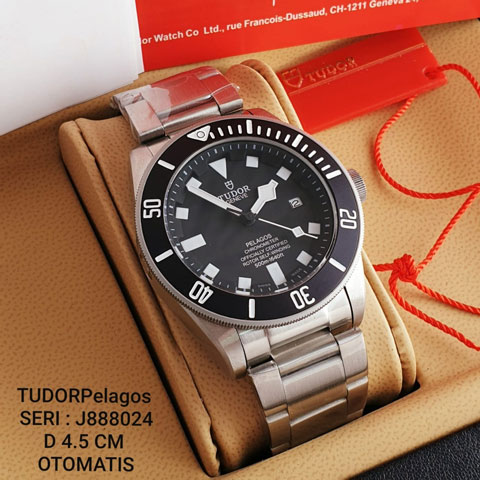 TUDOR Pelagos J888024 Stainless Mesin automatic include box original 4 4cm Jam Tangan Tudor Pelagos J888024 Include Box Original
