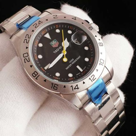 Tagheuer f1 classic all Stainless steel silver black 480x480