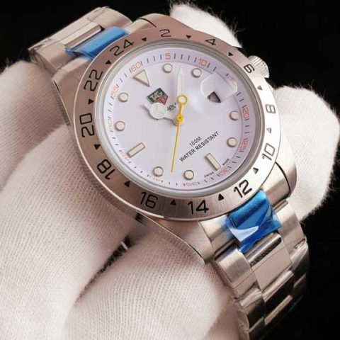 Tagheuer f1 classic all Stainless steel silver white 480x480