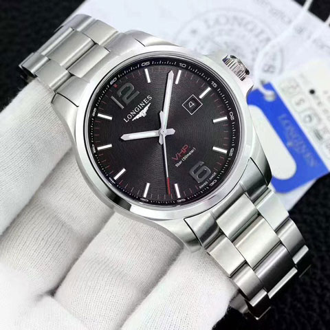 Longines VHP classic silver black matic 4.3cm