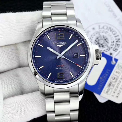 Longines VHP classic silver blue matic 4.3cm