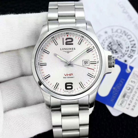 Longines VHP classic silver white matic 4.3cm