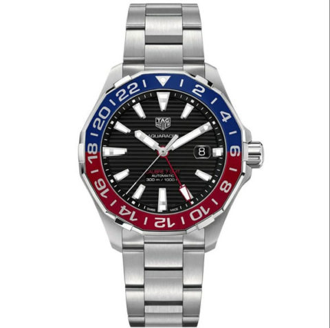 Tagheuer Aquaracer silver two tone matic 4 3cm 480x477 Jam Tangan Tag Heuer Aquaracer KW Super Premium Two Tone Automatic