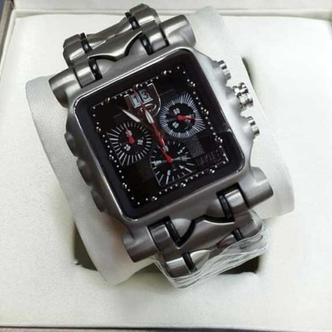Oakley Gear Titanium black chrono mesin swiss 480x480