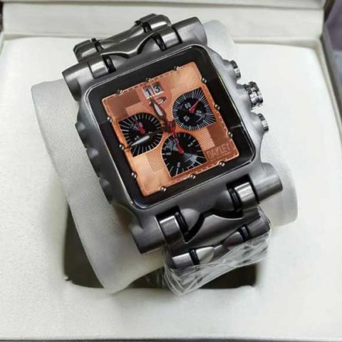 Oakley Gear Titanium brown chrono mesin swiss 480x480