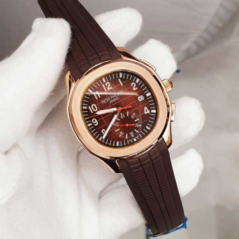 Patek Philippe nautilus world C10 Rubber rosegold brown dial 480x480 Jam Tangan Patek Philippe PP90 Rosegold World Rubber