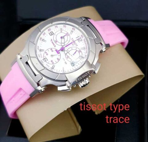 Tissot sporty T race ladies rubber pink (3.4cm)
